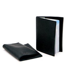 Passport holder in 'Black'