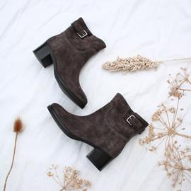 Bibi low boot in 'Carbon' | FELIZ laarzen
