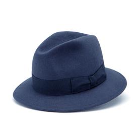 Amende hoed in 'Navy'