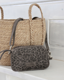 Buffy shoulderbag S in leopard 'Brown'