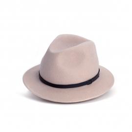 Amende hoed in 'Pale Pink'
