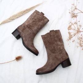 Bonnie mid boot in 'Bistro' | FELIZ laarzen