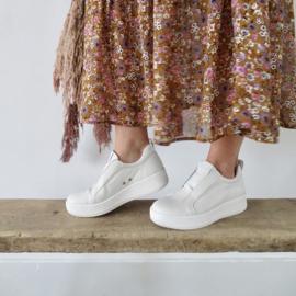 Valene sneaker 'White' leer