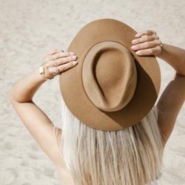Brasil hoed in 'New Beige'