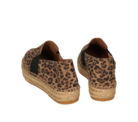 Paz leo loafer espadrille in 'Cognac'