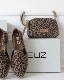 Buffy shoulderbag S in leopard  'Cognac'