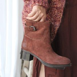 Bibi low boot in 'Rusty' | FELIZ laarzen