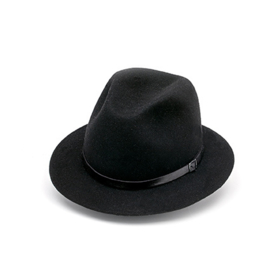 Amende hoed in 'Black'