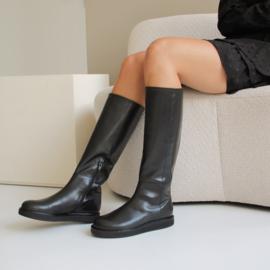 Mila hoge laarzen in 'Black'