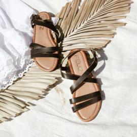 Tess sandaal in 'Black'