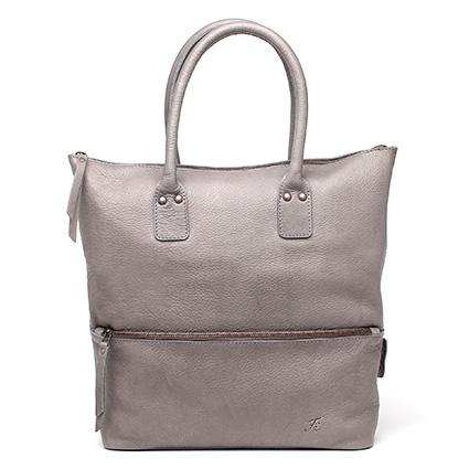Rose tote bag in 'Grey'