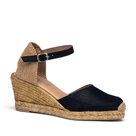 Lennie bras espadrille in  'Black'