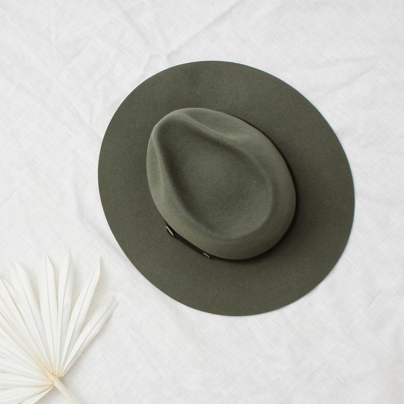 Brasil hoed in 'Edelweis'