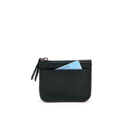 Coin purse in 'Black'