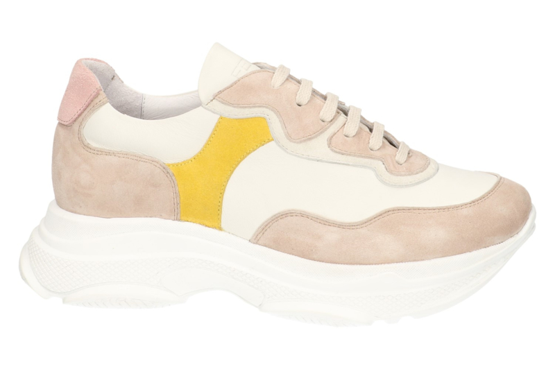 Dacey Chunky sneaker in 'White'