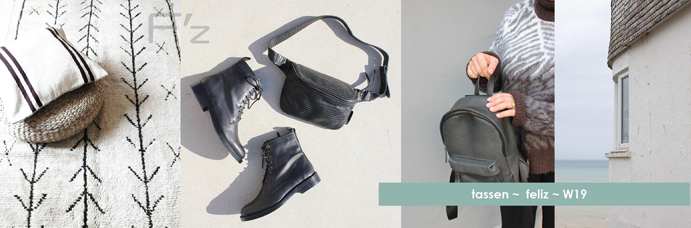 Tassen FELIZ winter 19 bags shoppers bumbag rugzak