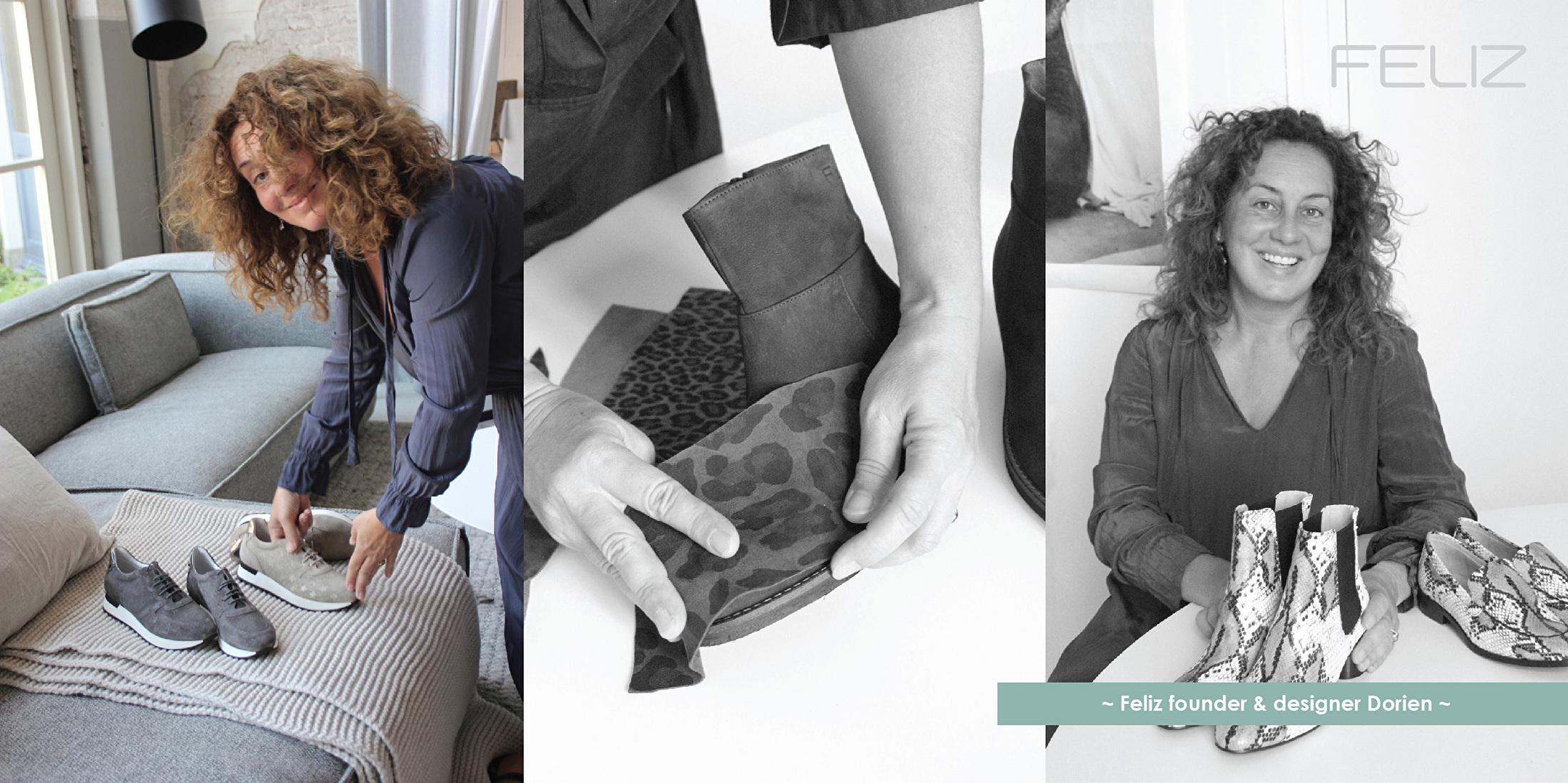 Designer FELIZ schoenen hoeden tassen Dorien winter 19
