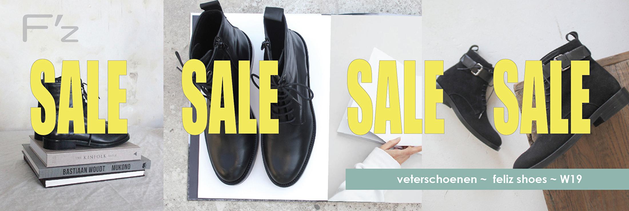 FELIZ sale schoenen veterboots boots W19