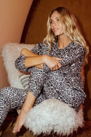 ONZIE FRENCH TERRY SWEATPANT - LEOPARD