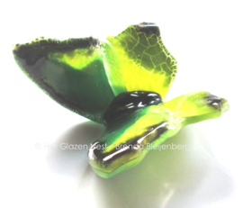 vlindertje in groene kleuren
