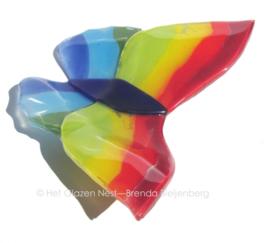 grote regenboog vlinder