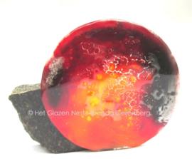 cirkel in rood en oranje