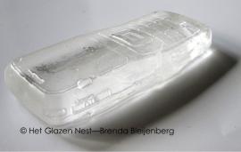 oude Nokia telefoon in glas