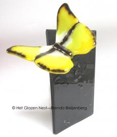 """Urn """"gele vlinder"""""""