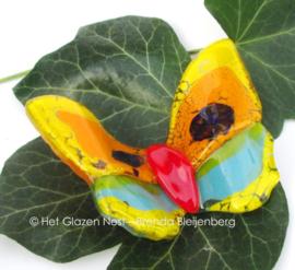 Kleine vlinder in speelse kleuren