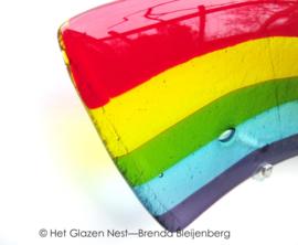 Regenboog in moderne grafkunst