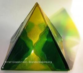 Groengele piramide