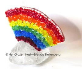 Kleine regenboog als mini urn