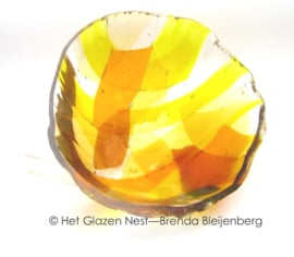 """glas sculptuur """"zonnestraal"""""""