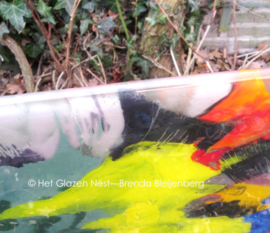 Schilderij in glas