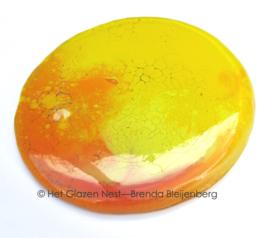kleine cirkel in zon kleuren