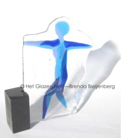Koorddanseres in glaskunst