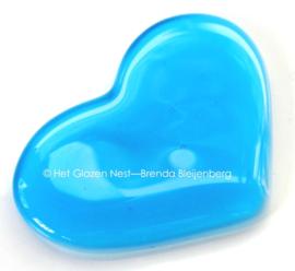 klein blauw hartje