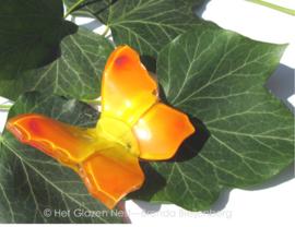 vlindertje in oranje en geel