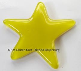 gele ster in fusing
