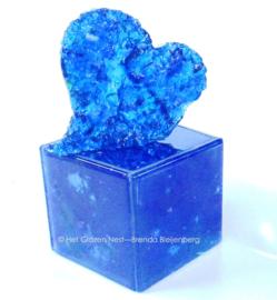 "Urn ""blauw hart"""