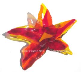 rode bloem met lange blaadjes
