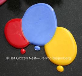 glazen ballonnetjals ornament