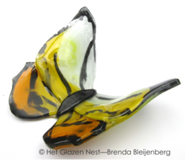 vlinder in tijger kleuren