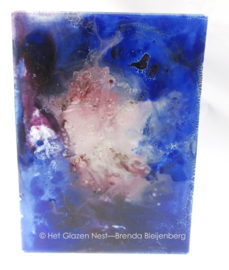 Heide kleuren in glaskunst