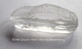 speelgoed Porsche in glas