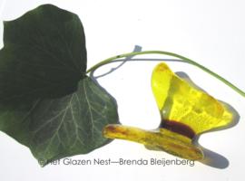 kleine gele vlinder