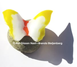 Bijzondere vlinder van glaskunst