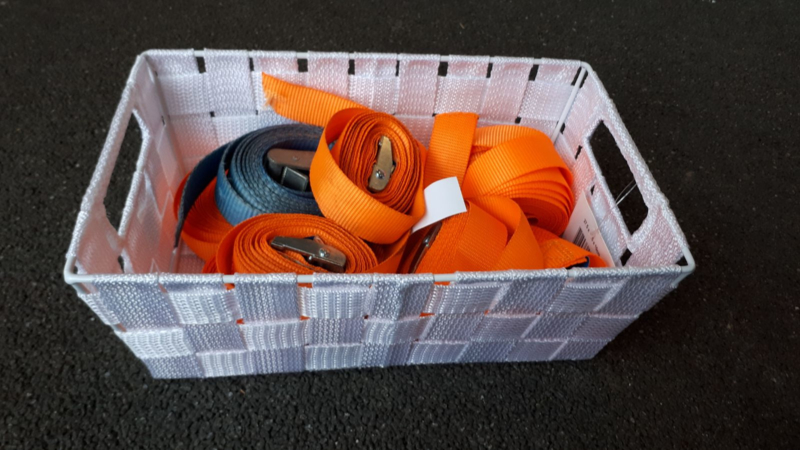 Set sjorbanden (klemsluiting, 8 stuks)