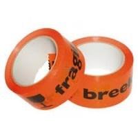 "Tape oranje ""Breekbaar"""