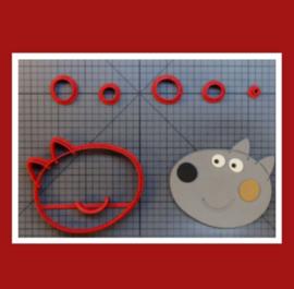 3-D uitsteker  ( 5 en 7,5 cm)